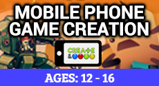 Video game design for mobile phones
